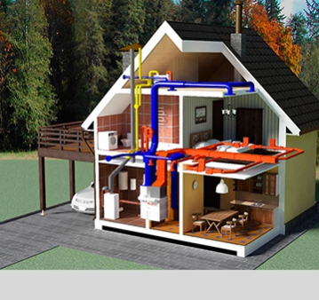 Инженерные коммуникации Водопровод, отопление, электрика